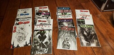 Image Comics McFarlane SPAWN black and white variant 267-288 lot of 22 books
