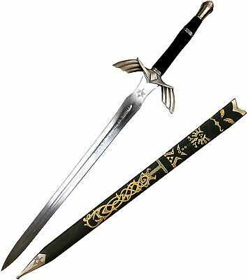 Black Legend of Zelda Dark Hylian Master Sword Steel Link cosplay Gift Set BOTW