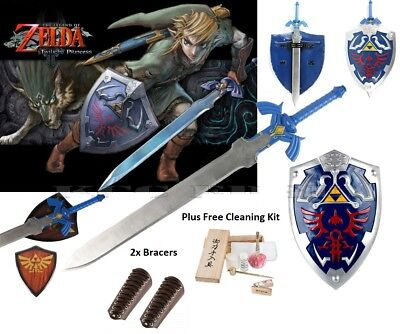 Breath of the Wind Premium gift set Sword Shield Deluxe Triforce Link Legend elf
