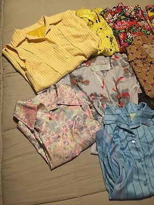 14 pieces of vintage women's clothing 70s 80s