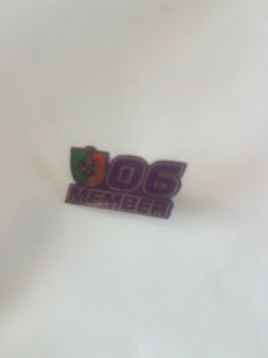 2006 Fremantle Dockers Member Badge  - Collectable Badge - Set hard to find Now