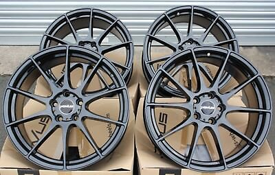 "18"" Alloy Wheels Novus 02 Gb Fit For Ford Transit Connect Edge Escape"