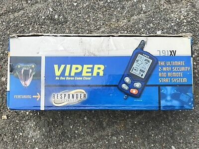 Viper Alarm 791XV and immobilizer