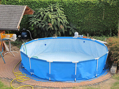 bestway steel pro frame pool 366x76 ohne Pumpe