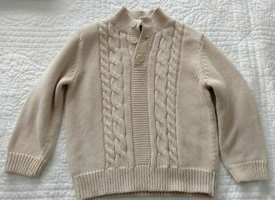 Boys Sweater By Cherokee Size 3T Color Sandy Beige