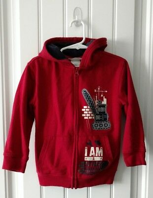 Boys Sweatshirt By Toughskins Size 4T Color Red