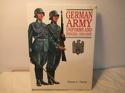 German Army Uniforms And Insignia 1933 - 1945 Hardcover Book Free USA Shipping