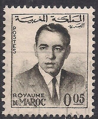 Maroc 0.05 old used stamp ( E1308 )