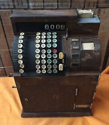 Kasse, Registrierkasse, National, antik, national cash, vintage, cash register