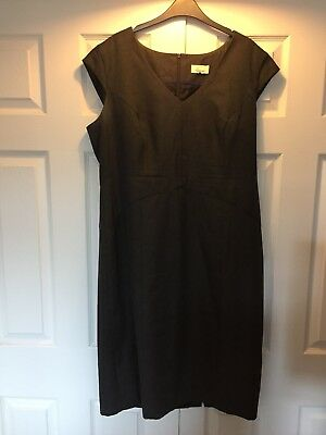 Linea Ladies Grey Shift Dress Size 20