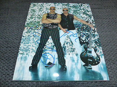 RIGHT SAID FRED signiert signed Autogramme auf 20x25 cm Bild InPerson LOOK