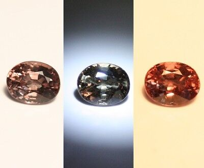 0.83ct Madagascan Colour Change Garnet - Rare Superb Colour Change