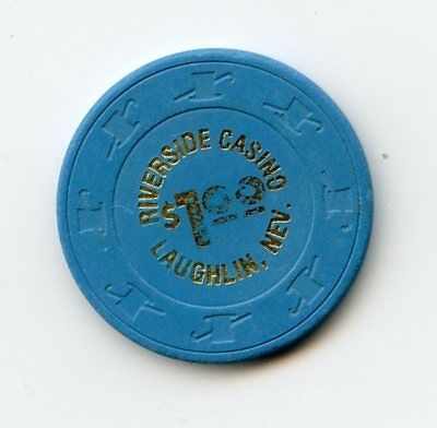 1.00 Chip from the Riverside Casino in Laughlin Nevada