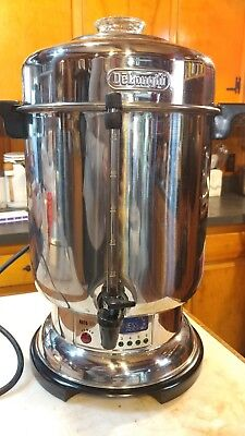 DeLonghi Stainless 20-60 Cup Ultimate Coffee Urn DCU72