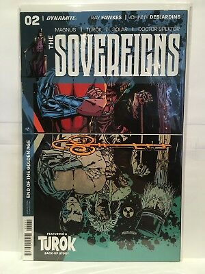 The Sovereigns #2 Cover B NM- 1st Print Dynamite Comics