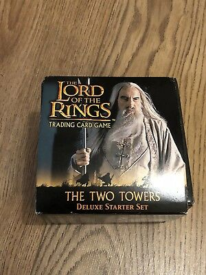 Lord Of The Rings Trading Card Game 2002  - Deluxe Starter Pack - The Two Towers