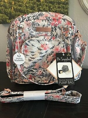 NWT Jujube Rose Gold Collect RG Be Supplied BS Breast Pump Diaper Bag