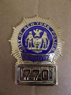 Badge-Brustabzeichen-NYPD-New York Police-Detective