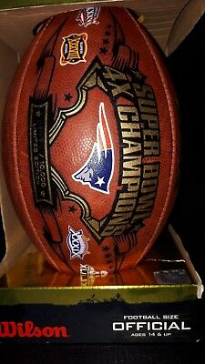 Authentic NFL Game Ball New England Patriots