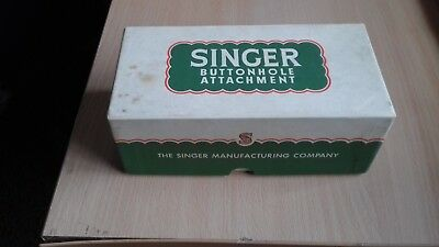vintage SINGER BUTTONHOLE attachment