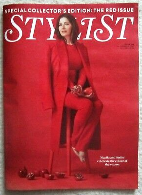 Nigella Lawson – The Red Issue – Stylist magazine – 18 October 2017