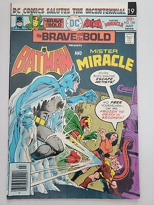 The Brave And The Bold #128  Batman & Mister Miracle, Bronze Age