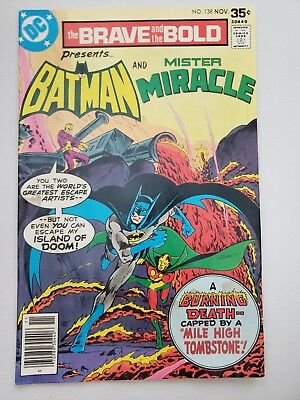 Brave and the Bold 138 Bronze Age Batman Mister Miracle