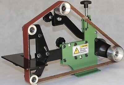 "Belt Grinder 2""x72"" Complete Chassis Idler, Tracking, Drive Wheels + Step Pulley"