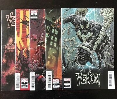 VENOM 1,2,3,4,5 FULL RUN LOT all VARIANTS! (2018) Variant Edition Lot In NM