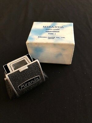 MIRANDA Chest-level Viewfinder Type 1 Made in Japan Mint condition fits Sensomat