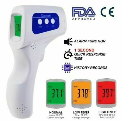Infrared Digital Thermometer No Contact Body Temperature LCD Display Adult Baby