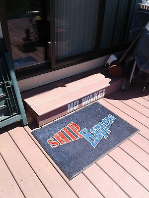 ShipHappens Deck Door Mat Made in the Great state of Georgia USA.