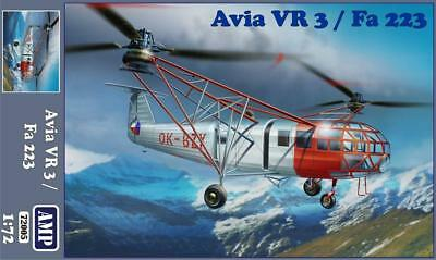 1:72 AMP #72005 Avia VR 3 / Fa 223 Helicopter, with masks & photo-etched parts