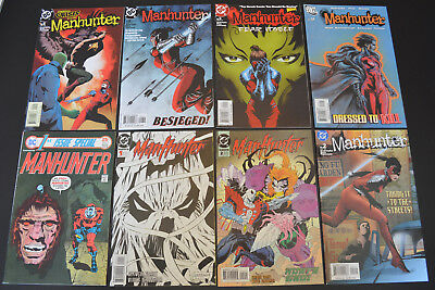 MANHUNTER (8-Book) DC Comic LOT #1 2 5 8 9 15, 1ST ISSUE SPECIAL #5 (High Grade)