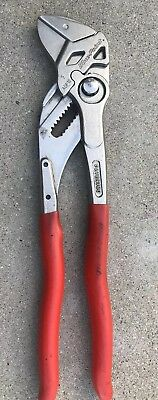 Blue Point Knipex ADP10 Pushbutton Adjustable Smooth Jaw Pliers Great Condition