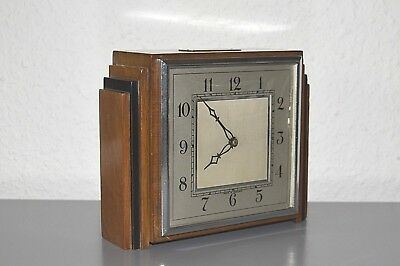 SMITHS Art Deco (1935) mantle clock. Made in England. Escapement platform