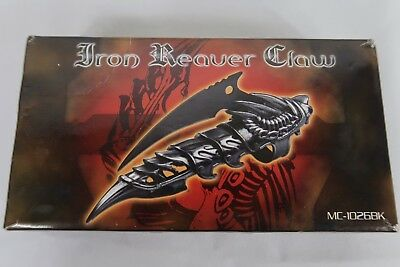 DRAGON CLAW Ring Finger FANTASY KNIFE Combat Blade Iron Reaver Armor NEW