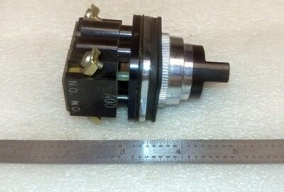 Generic 2 Position Dpst Industrial Rotary Selector Switch