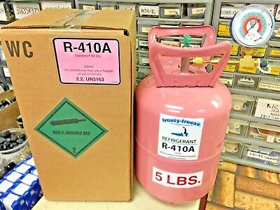 R410a, Refrigerant, 5 lb. Can, 410a, Best Value On eBay, Check & Charge-It Gauge