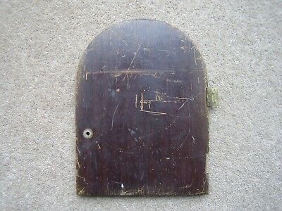 Clock Case Back Door for 1930's Chime / Strike Mantle Clock. Need refinishing