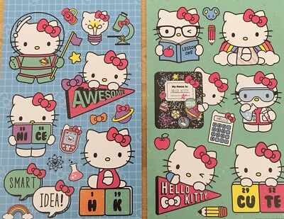 hello kitty stickers 2 Sheets Free Shipping