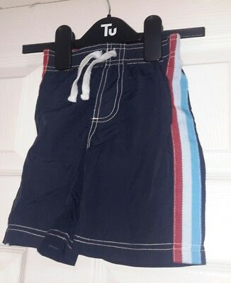 wipeout baby boy's swimming trunks aged 12 - 18 mths