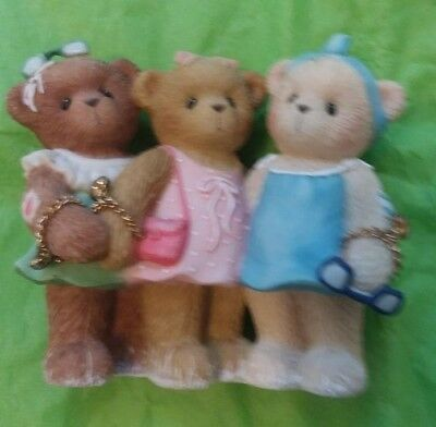 "Cherished Teddies ""Friends Are Forever in Your Heart"" Liza Barbie Ashlyn"