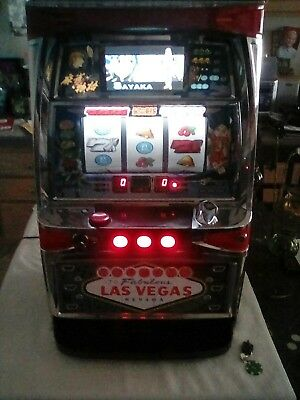 SLOT MACHINE CASINO  SKILL STOP  w, KEYS   (( NEW )) READY TO PLAY LAS VEGAS