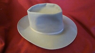 Vintage Knox superfine Fedora 1950s size 7 and 1/8