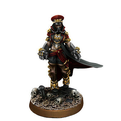 Imperial Soldiers Female Commissar with Fists of Power - WE