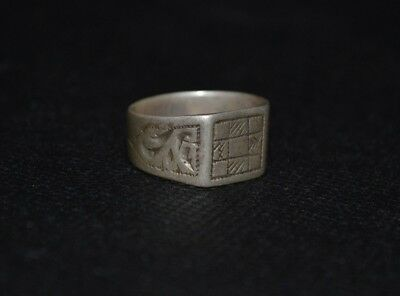 Ancient VIKING OLD SILVER Ring museum quality artifact VERY Stunning