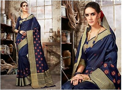Indian Bollywood Designer Wine Chiffon Party Wear Printed Lace Saree with Blouse