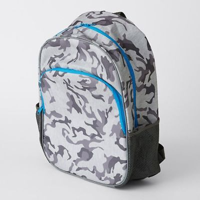 NEW Insulated Camouflage Print Backpack Kids