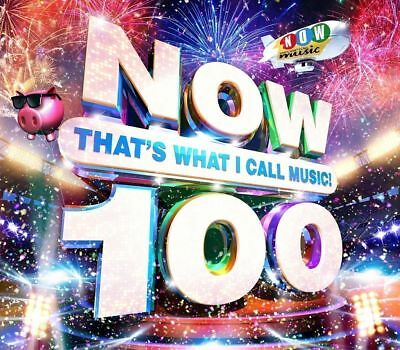 NOW THAT'S WHAT I CALL MUSIC 100 Brand new CD -2 DISCS- Free and Fast Dispatch